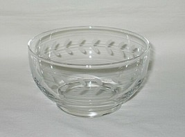 Anchor Hocking Laurel Pattern Footed 4 3/4-inch Bowl - $9.85