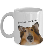 "Funny Dog Coffee Mug ""Good morning Dog Mug"" Novelty Dog Gift Mug For Dog... - $14.95"