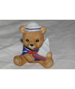 Homco Playtime Bear Figurine 1417 Home Interiors - $4.99