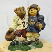 2007 Boyds Bears Block and Tackle Football Sideline Buddies Figurine #22... - $10.99