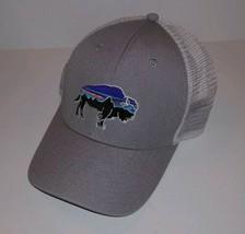 PATAGONIA Buffalo Logo TRUCKER HAT Snapback Baseball Cap Hiking Mesh 1-S... - $34.67