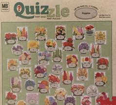 Quizzle Puzzle/ Flowers /  500 Pieces / New In Box/Milton Bradley - $10.00