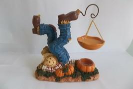 Yankee Candle Fall Scarecrow Halloween Harvest Hanging Tart Warmer Retired  - $44.99