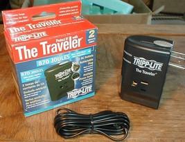 Tripp-lite Portable Surge Protector Traveler 870j Travel Size Light Weight NEW - $6.92