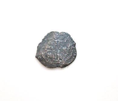 Spanish Piece of Eight Cob from the Shipwreck Consolacion, 1600's, COA