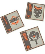 Call of Duty - Black Ops 4 Silicone Coasters (3-Pack) - Orange/Black/Tan... - $5.49
