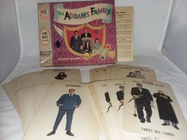 1965 Addams Family Card Game  Complete USA Milton Bradley No 4536 Vintage  - $65.99