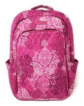 Vera Bradley Laptop Backpack - Stamped Paisley - NWT - $108 MSRP! image 1