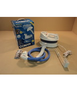 Conair Compact Fabric Steamer White/Blue 1200 Watt Heater GS4 - $54.16