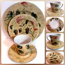 "222 Fifth (PTS) ""ASIAN ANTIQUE"" 5 Piece Place Setting Stoneware Set for 1 - $43.56"