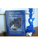 1990 ISLAND OF THE BLUE DOLPHINS SCOTT O'DELL HC/DJ Indian Girl California  - $12.99