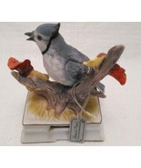 Blue Jay, Music Box, Somewhere Over the Rainbow, Towle, Porcelain - $7.99