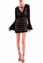 Free People Long Sleeve Back To Black Mini Dress Black Size S RRP £158 B... - $149.47