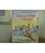 1986 RIDE A PURPLE PELICAN Author Signed GARTH WILLIAMS Illustrator HC/D... - $24.00