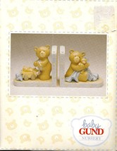 Bookends, Nursery, Baby Gund Baby Boy Blue, Teddy Bears Bookends, Good C... - $14.95