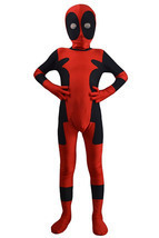 Deadpool Cosplay Costumes Kids Full bodysuit Halloween Costume Lycra Spa... - $39.99