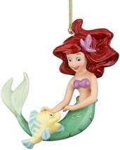 Lenox Disney The Little Mermaid Ariel's Best Friend Ornament Figurine New - $26.90