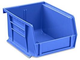 "Blue Stackable Storage Bin 5-1/2""(L) x 4""(w) x 3""(H) - Lot of 24 (S-1241... - $73.72 CAD"