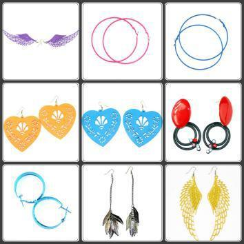 9 Pair of Fashion Earings