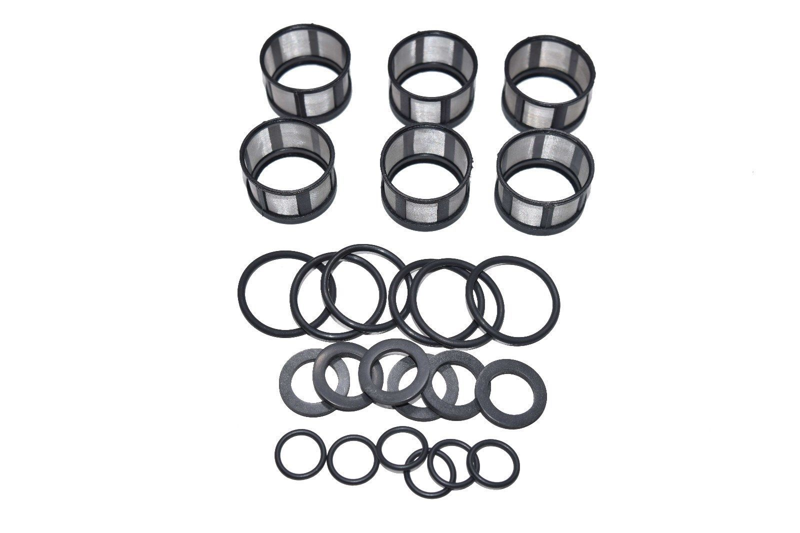 Fuel Injector Rebuild Kit O Rings Filters And 50 Similar Items 1988 Nissan D21 Pickup Filter 57