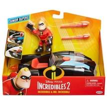 Disney Pixar Incredibles 2 Junior Supers Incredibile and Mr. Incredible ... - $44.99