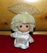 "Precious Moments Hi Babies 6"" Blonde Doll ~ Communion Confirmation Girl ... - $7.69"