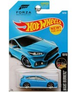 Hot Wheels 2016 Night Burnerz Forza Motorsport '16 Ford Focus RS 90/250,... - $36.90