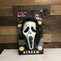 Vintage SCREAM Fun World 1997 Never Opened Bleeding Ghost Face Mask - £36.15 GBP