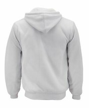 Men's Athletic Soft Sherpa Lined Fleece Hoodie Sweater Jacket w/ Defect 2XL image 2
