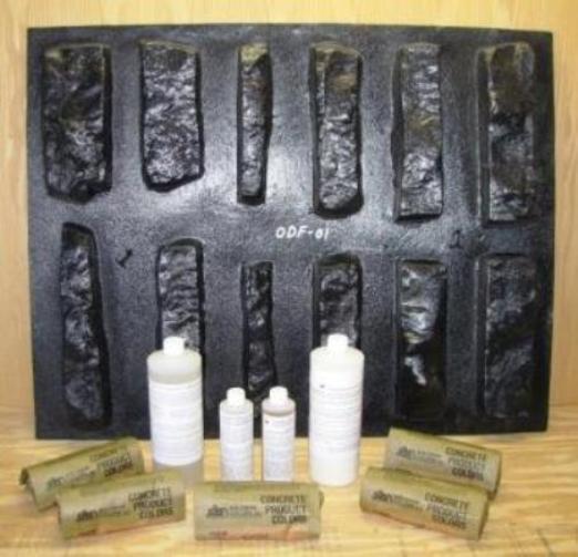 Kit odf 01k diy stackstone molds