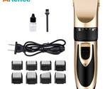 Artence® Professional Electric Hair Clipper Rechargeable Trimmer Hair Cutting