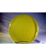 Kenro Holiday Yellow With  Red Speckle Vintage Melmac Dinner Plate  Circ... - $3.77