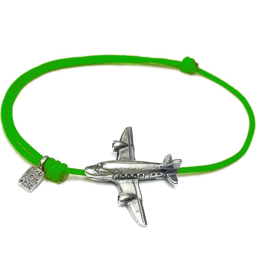 Big Airplane Bracelet, sterling silver