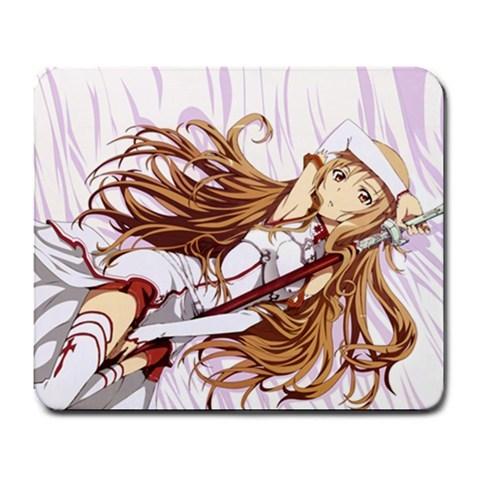 Hot Yuuki Asuna Sword Art Online Manga Anime Mousepad Game Mouse Pad Mat