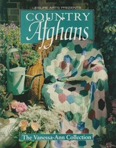 "Hard Covered Book ""Country Afghans"" - The Vanessa-Ann Collection - Gentl... - $18.00"