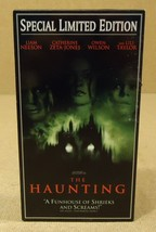 Dream Works The Haunting VHS Movie  * Plastic Paper - $4.34
