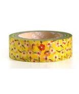 Japanese Washi Tape Roll- Flowers - $3.00