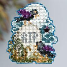 Tombstone Autumn 2013 Seasonal ornament pin kit cross stitch Mill Hill - $6.30