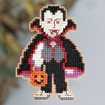 Dracula Autumn 2013 Seasonal ornament pin kit cross stitch Mill Hill - $6.30