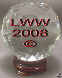 Multi-faceted Crystal Ball 50 mm Divination Pagan Wicca