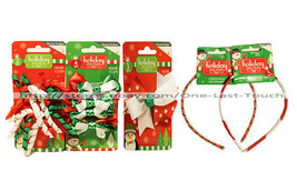 HOLIDAY HELPERS Beauty Product CLIP+BOW+HEADBAND+BARRETTES Christmas *YO... - $2.36