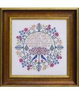 Botanical Blessings cross stitch chart Blue Ribbon Designs  - $12.60