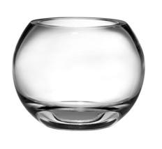 "Barski Handmade Glass Thick Rose Bowl, Clear, 7"" D 7.5 Inches Diameter, ... - $54.45"
