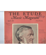 Vintage 1938 copy THE ETUDE MUSIC MAGAZINE Features a Tribute to Richard... - $8.50