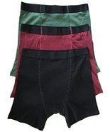 Mens Stashitware Secret Pocket Underwear, Boxer Brief, Black, Red, Green... - $34.00