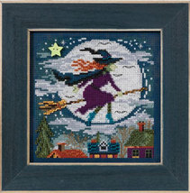 Witch Way 2013 Autumn Series beaded button kit Mill Hill - $11.70