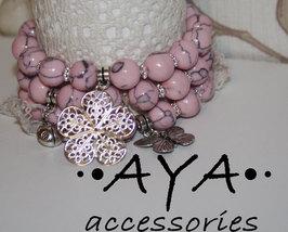 "A set of bracelets "" Tenderness "" - $42.00"