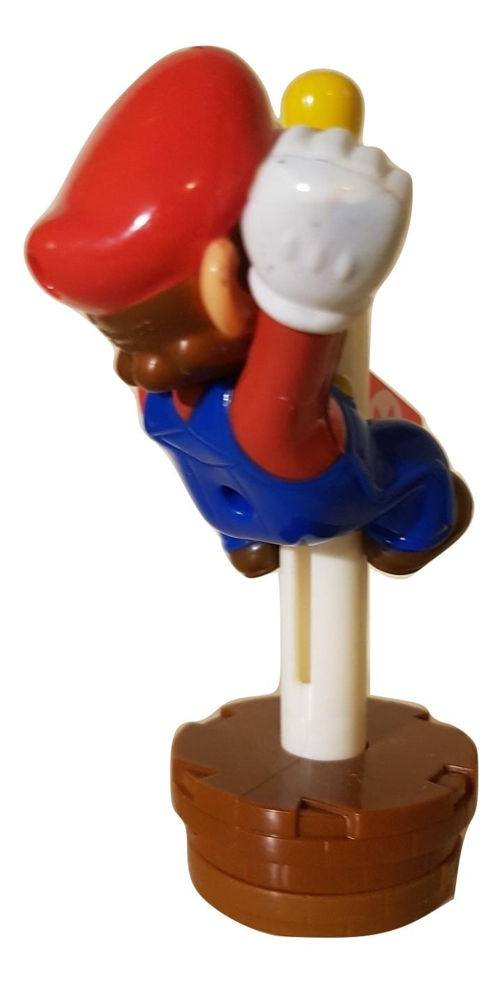 Super Mario Bros Flag Pole Figure Famicom Quest Japan Version Made For Mcdonald