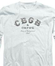 CBGB Retro 70's Punk Rock Bar NY City graphic long sleeve T-shirt CBGB104 image 3