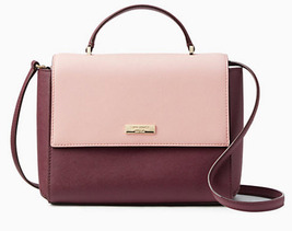 Kate Spade paterson court brynlee Satchel MULLED WINE nwt - ₨10,349.33 INR